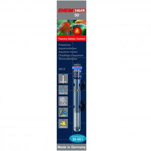 גוף חימום Thermocontrol 50 לאקווריום בנפח של 25 עד 60 ליטר