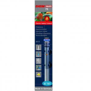 גוף חימום Thermocontrol 75 לאקווריום בנפח של 60 עד 100 ליטר