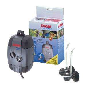 משאבת אוויר כפולה air pump 200 בעלת פעולה שקטה במיוחד