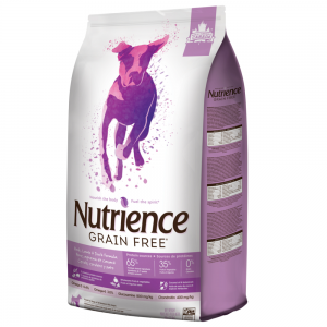 מזון יבש לכלבים מכל הגזעים ובכל הגילאים מבשר כבש, ברווז וחזיר, נטול דגנים