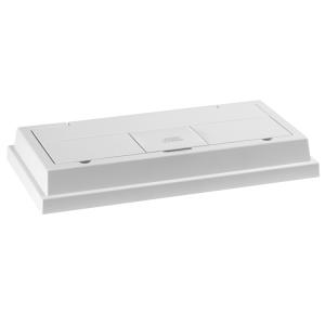 מכסה תאורה מונולוקס 60 בצבע לבן