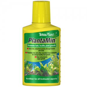 חומר דישון עם ברזל בצורה נוזלית להתפתחות צמחים מימיים מפוארים