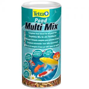 תערובת מזון מובחר ואיכותי ביותר לכל סוגי דגי הבריכה
