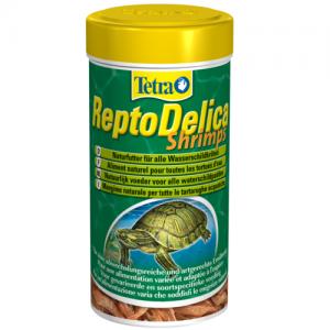 מזון חטיפים לצבי מים המכיל 100% שרימפסים
