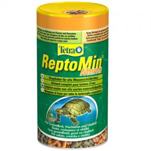 תפריט מלא של מזון עיקרי לתזונה מגוונת ומתאימה במיוחד לכל סוגי צבי המים