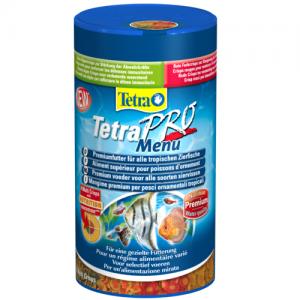 תפריט מלא של מזון דפים סופר פרימיום לכל סוגי הדגים הטרופיים