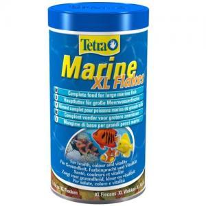 מזון פתיתים עיקרי מושלם לכל סוגי דגי המים המלוחים הגדולים